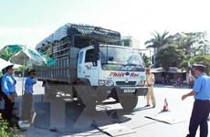 50% xe ôtô bị kiểm tra ở Nghệ An là chở quá khổ, quá tải