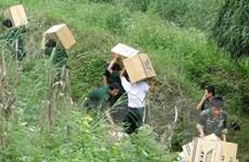Lạng Sơn ngăn chặn tình trạng buôn lậu, hàng giả qua biên giới