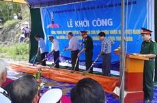 Khởi công Đài chiến thắng trận đầu Hải quân Nhân dân Việt Nam