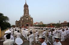 Độc đáo đoàn kèn Tây với 800 thành viên ở Nam Định