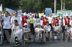 Hơn 3.000 người tham gia đi bộ ủng hộ người khuyết tật nghèo