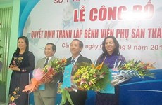 Khánh thành Bệnh viện Phụ sản đầu tiên của khu vực ĐBSCL