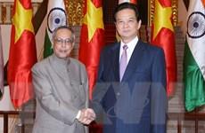 Tổng thống Mukherjee: Việt Nam là đối tác đáng tin cậy của Ấn Độ