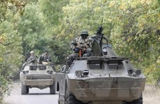 Ukraine tuyên bố sẽ xây dựng tuyến phòng thủ quanh Donbass