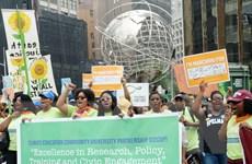 Tuần hành kêu gọi chống biến đổi khí hậu tại hơn 160 nước