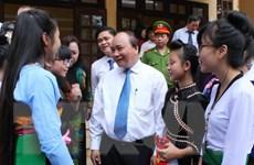 Phó Thủ tướng Nguyễn Xuân Phúc dự khai giảng Trường Hữu nghị T78