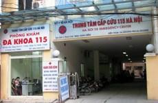 Khởi tố vụ rút ruột bảo hiểm y tế tại Trung tâm Cấp cứu 115 Hà Nội