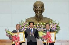 Trao Huân chương Hồ Chí Minh tặng hai nguyên Phó Thủ tướng
