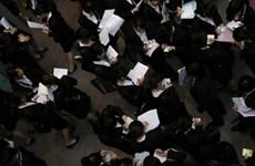 Tỷ lệ thất nghiệp tại Nhật Bản đã giảm trong tháng Tám