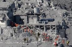 Nhật Bản nối lại công tác tìm kiến nạn nhân núi lửa Ontake