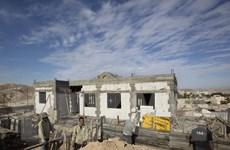 Căng thẳng Mỹ-Israel liên quan đến kế hoạch xây khu định cư mới
