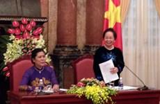 Phó Chủ tịch nước tiếp các nữ chức sắc, nữ tu tôn giáo tiêu biểu