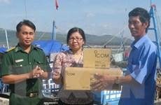 Lắp đặt thiết bị ICOM cho các nghiệp đoàn nghề cá Quảng Nam
