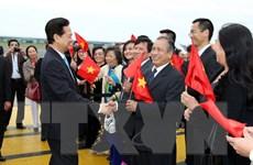[Photo] Thủ tướng Nguyễn Tấn Dũng thăm chính thức Bỉ và EU