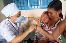 Phát động chiến dịch tiêm vắcxin sởi-Rubella khu vực phía Nam