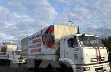 Đoàn xe nhân đạo thứ năm của Nga đến miền Đông Ukraine
