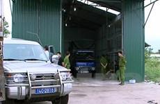 Quảng Ninh: Thu giữ 100 tấn hàng lậu tại vùng biên Móng Cái