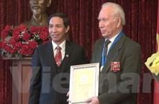 Vinh danh các công dân Nga có đóng góp to lớn cho Hà Nội
