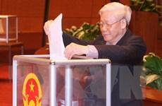 Công bố kết quả lấy phiếu tín nhiệm 50 chức danh Quốc hội bầu