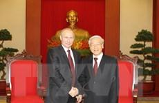 Thúc đẩy mạnh mẽ quan hệ hợp tác với các nước bạn bè truyền thống
