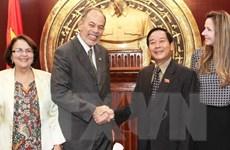 Việt Nam-Brazil không ngừng tăng cường hợp tác nghị viện