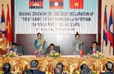 CLV-8 tạo tiền đề thúc đẩy kết nối giữa Campuchia-Lào-Việt Nam
