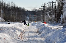 """Mỹ: Bão tuyết gây trở ngại lễ Tạ ơn và """"Ngày vàng mua sắm"""""""