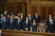 Nội các mới của Ukraine có ba bộ trưởng người nước ngoài
