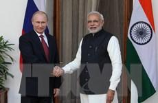 Nga-Ấn Độ hướng tới mục tiêu kim ngạch thương mại 30 tỷ USD