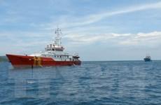 Cứu nạn lai dắt thành công tàu hàng chở 1.500 tấn ximăng bị đứt neo
