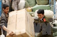 Hà Tĩnh: Bắt giữ hai ôtô vận chuyển hàng nhập lậu từ Trung Quốc