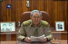 Nhà Trắng để ngỏ khả năng Chủ tịch Cuba Raul Castro thăm Mỹ