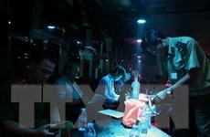 TP.HCM: Đột kích hai quán bar, phát hiện nhiều đối tượng dùng ma túy