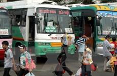 TP. Hồ Chí Minh đáp ứng phương tiện phục vụ người dân dịp Tết