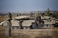 Quân đội Israel rút khỏi các khu vực dân cư tại biên giới Dải Gaza