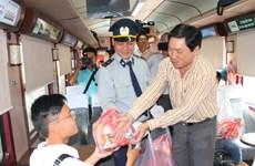 Ga Sài Gòn phục vụ hơn 7.000 hành khách trong ngày đầu năm