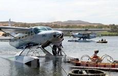 Bình Thuận lần đầu tiên đón khách du lịch bằng thủy phi cơ