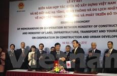 Việt Nam và Nhật Bản hợp tác trong xây dựng phát triển đô thị