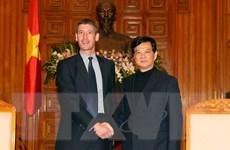 Quan hệ Việt Nam-Anh đang phát triển sâu rộng trên mọi lĩnh vực