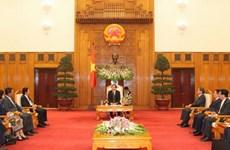 Phó Thủ tướng tiếp Trưởng các đoàn Ủy hội sông Mekong quốc tế