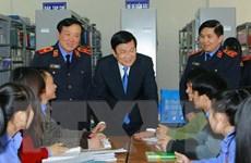 Chủ tịch nước thăm và làm việc tại Trường Đại học Kiểm sát Hà Nội