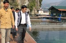Chủ tịch nước Trương Tấn Sang thăm và làm việc tại tỉnh Hòa Bình