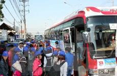 TP.HCM: Hỗ trợ trên 10.000 vé xe Tết cho người lao động