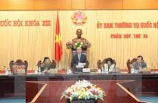 Khai mạc Phiên họp thứ 34 Ủy ban Thường vụ Quốc hội Khóa XIII
