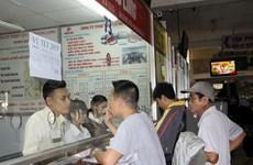 TP.HCM: Cước vận tải hành khách dịp Tết Nguyên đán giảm đến 22%