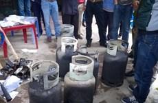 Thanh Hóa: Cháy đại lý phân phối gas, thiêu rụi nhiều tài sản