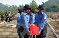 Lễ cầu siêu và đón nhận hài cốt liệt sỹ hy sinh tại Campuchia