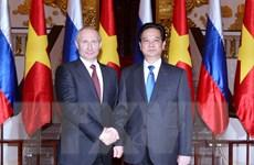 Thư chúc mừng kỷ niệm 65 năm quan hệ ngoại giao Việt-Nga