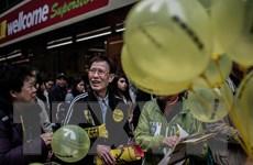 Hong Kong: Lượng người biểu tình ủng hộ dân chủ thấp hơn dự kiến