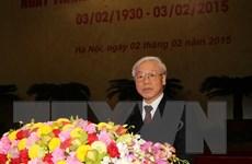 Điện mừng nhân kỷ niệm 85 năm thành lập Đảng Cộng sản Việt Nam